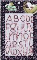 Picture of Rhinestone Alphabets Red