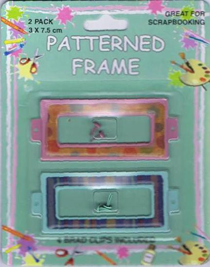 Picture of Metal Patterned Plaques 2Pk