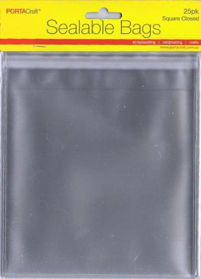 Picture of Sealable Bags Square Closed 25Pk