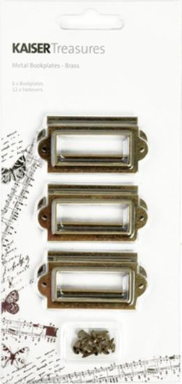 Picture of Kaiser Treasures Bookplates Brass