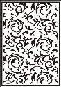 Picture of Portacraft Embossing Folder Scrollworks 15cm x 10cm