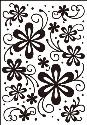 Picture of Portacraft Embossing Folder Daisy Delight 15cm x 10cm