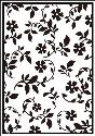 Picture of Portacraft Embossing Folder Flower Flourish 15cm x 10cm