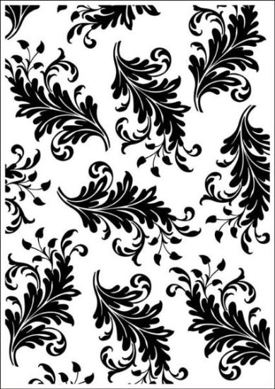 Picture of Portacraft Embossing Folder Leaves 15cm x 10cm