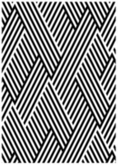 "Picture of Kaiser Embossing Folder Weave 5"" x 7"""