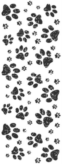 Picture of Furry Friends Clear Stamp Paw Prints