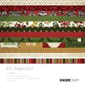 """Picture of Holy Night 6 1/2"""" x 6 1/2"""" Paper Pad"""