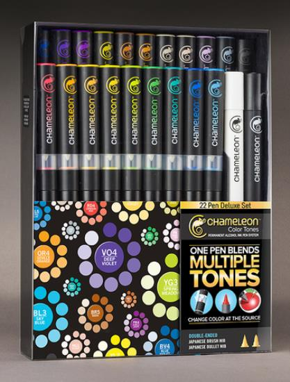 Picture of Chameleon Deluxe Set 22 Pens