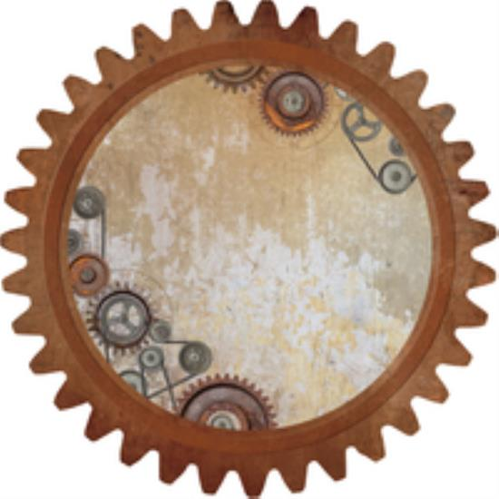 Picture of Factory 42 Die Cut - Cogs & Pulleys