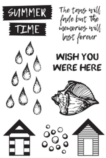 Picture of Summer Splash Clear Stamp