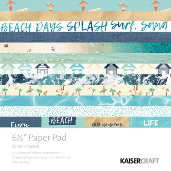 "Picture of Summer Splash 6 1/2"" Paper Pad"