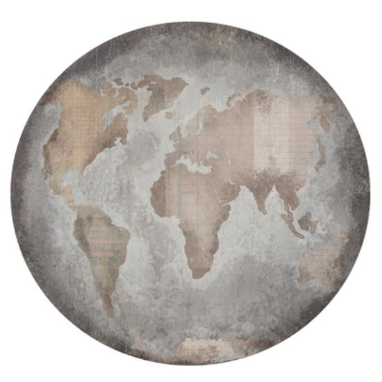 Picture of Documented Die Cut - Globe