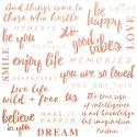 Picture of Misty Mountains Specialized Paper Foil - Be You Quotes