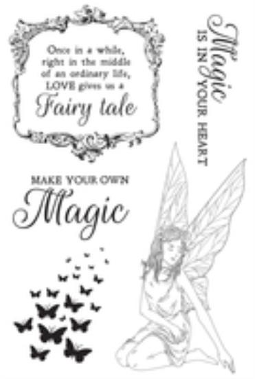 Picture of Fairy Garden Clear Stamp