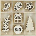 Picture of Kaiser Wooden Flourishes - Traditional Christmas