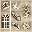 Picture of Kaiser Wooden Flourishes - Secret Garden