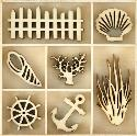 Picture of Kaiser Wooden Flourishes - Beach
