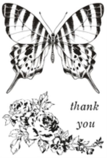Picture of Pen & Ink Clear Stamp