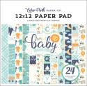 "Picture of Echo Park Hello Baby Boy - 12"" 24 Single Sided Papers"