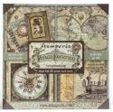 "Picture of Stamperia Voyages Fantastiques 12"" Paper Pad 22Pk"