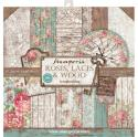 "Picture of Stamperia Roses, Laces & Wood 12"" Paper Pad 10Pk"