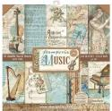"Picture of Stamperia Music 12"" Paper Pad 10Pk"