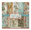 "Picture of Stamperia Sea World 12"" Paper Pad 10Pk"
