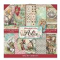 "Picture of Stamperia Alice 12"" Paper Pad 10Pk"