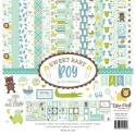 "Picture of Echo Park Sweet Baby Boy - 12"" 12 Double Sided Papers & Sticker Sheet"