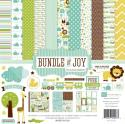 "Picture of Echo Park Bundle of Joy Boy - 12"" 12 Double Sided Papers & Sticker Sheet"