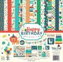 "Picture of Echo Park Happy Birthday Boy - 12"" 12 Double Sided Papers & Sticker Sheet"