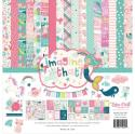 "Picture of Echo Park Imagine That Girl - 12"" 12 Double Sided Papers & Sticker Sheet"