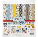"Picture of Echo Park I Love My Cat - 12"" 12 Double Sided Papers & Sticker Sheet"