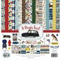 "Picture of Echo Park A Dog's Tail - 12"" 12 Double Sided Papers & Sticker Sheet"