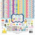"Picture of Echo Park Let's Be Mermaids - 12"" 12 Double Sided Papers & Sticker Sheet"