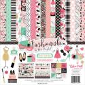 "Picture of Echo Park Fashionista - 12"" 12 Double Sided Papers & Sticker Sheet"