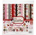 "Picture of Echo Park Be My Valentine - 12"" 12 Double Sided Papers & Sticker Sheet"