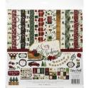 "Picture of Echo Park A Cosy Christmas - 12"" 12 Double Sided Papers & Sticker Sheet"
