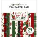 "Picture of Echo Park Here Comes Santa Claus 6"" 24 Double Sided Papers"