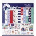 "Picture of PhotoPlay Set Sail - 12"" 12 Double Sided Papers & Sticker Sheet"