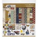 "Picture of PhotoPlay Here & There - 12"" 12 Double Sided Papers & Sticker Sheet"