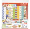 "Picture of PhotoPlay Whiskers - 12"" 12 Double Sided Papers & Sticker Sheet"