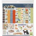 "Picture of PhotoPlay Lakeside - 12"" 12 Double Sided Papers & Sticker Sheet"