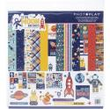"Picture of PhotoPlay To The Moon And Back - 12"" 12 Double Sided Papers & Sticker Sheet"