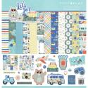 "Picture of PhotoPlay Let's Go - 12"" 12 Double Sided Papers & Sticker Sheet"