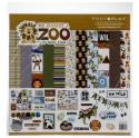 "Picture of PhotoPlay We Bought A Zoo - 12"" 12 Double Sided Papers & Sticker Sheet"