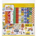 "Picture of PhotoPlay Little Builder - 12"" 12 Double Sided Papers & Sticker Sheet"