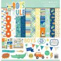 "Picture of PhotoPlay Boys Rule - 12"" 12 Double Sided Papers & Sticker Sheet"