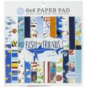 "Picture of Carta Bella Fish & Friends 6"" 24 Double Sided Papers"