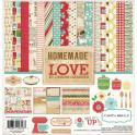"Picture of Carta Bella Homemade With Love - 12"" 12 Double Sided Papers & Sticker Sheet"